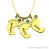 halskæde med gravering, halskæde med indgravering, smykker med gravering, smykker med indgravering, navnehalskæde, halskæde med navn